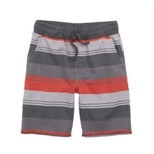 NWT Tea Collection stripe cruiser shorts 0-3mos
